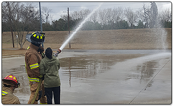 Participants Visit Local Fire Department
